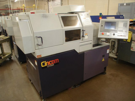 Citizen Model L20-VII CNC Swiss Type Screw Machine from sale