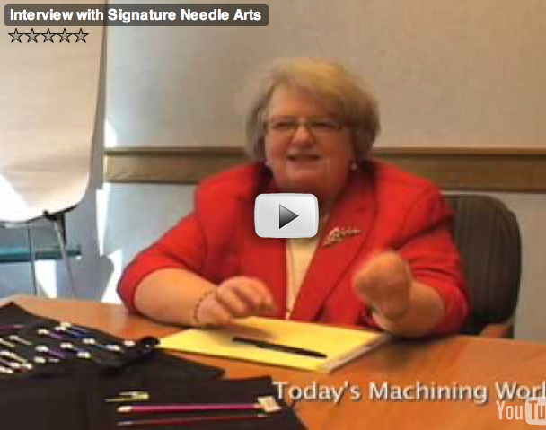 A Video Interview with Cathy Bothe of Signature Needle Arts