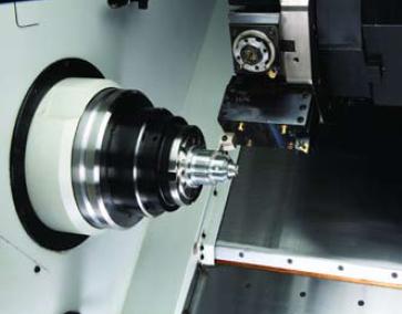 The FlexC vulcanized collet system from Hardinge.Photo courtesy of Hardinge Inc.