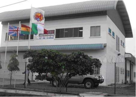 The Hufra Precision  Machining Company  located in Accra,  Ghana, West Africa. Photos courtesy Michael Frank