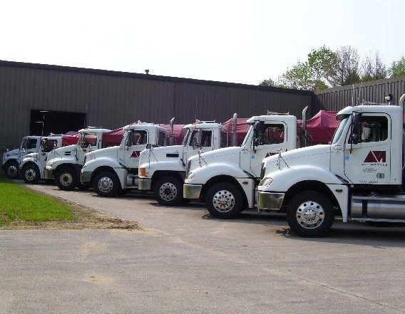 Trucks Loads at Steel Service Center: http://www.allmetind.com/