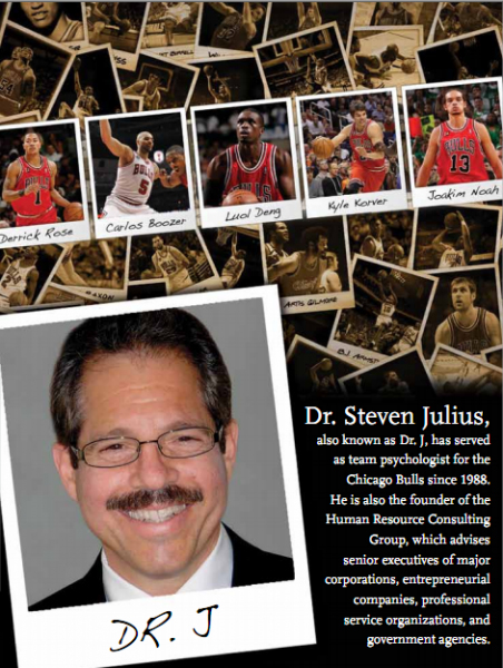 Chicago Bulls Team Psychologist Dr. Steven Julius