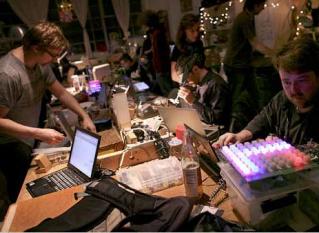Craft Night at NYC Resistor