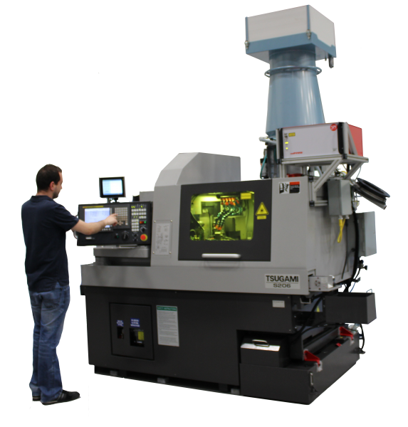 Tsugami Rem Sales To Demonstrate Laserswiss Machine At Md