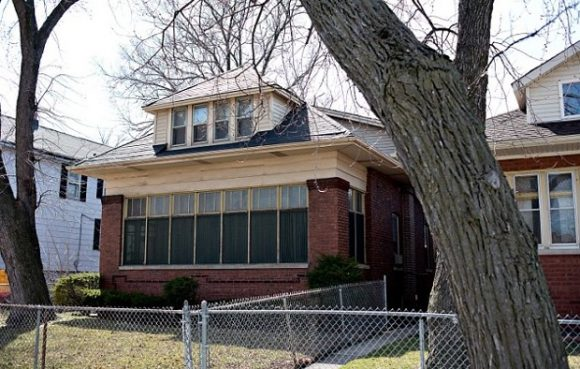 Michelle Obama's Childhood home in Chicago.
