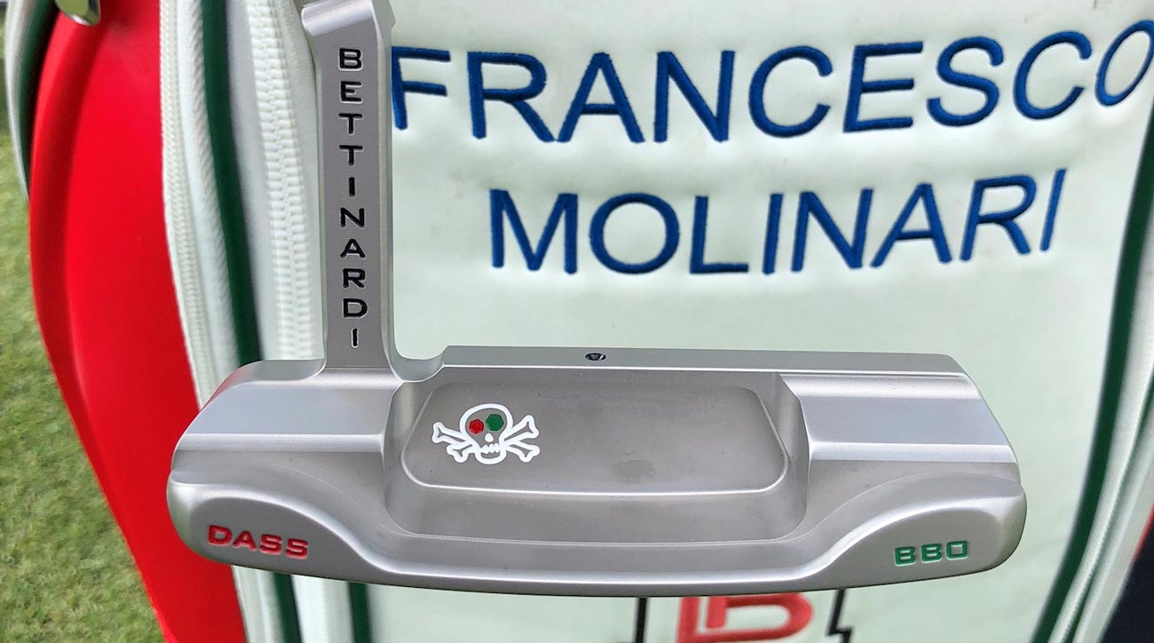 Francesco Molinari's former Bettinardi Putter